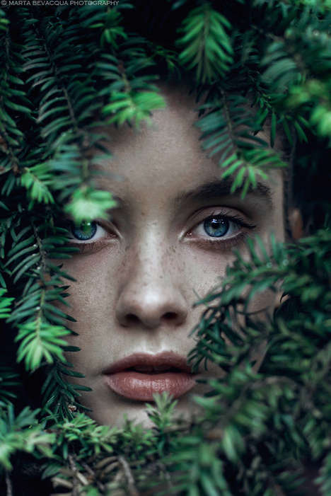 Ethereal Female Portraits - These Images Capture the Serene Beauty of Young Women in Nature