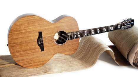 Natural Linen Guitars - The El Capitan Instrument Design is Made Out of Fabric Composite