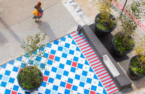 Colorfully Creative Crosswalks - This Initiative Transforms Crosswalks on London's Southwark Street