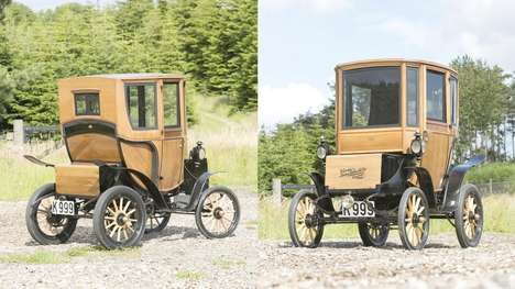 Ancient Electric Cars - The 1905 Woods Queen Victoria Brougham Sold For $95,000
