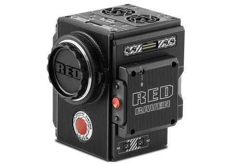 Affordable HD Camcorders - The RED RAVEN is Capable of Capturing Beautiful 4K Videos