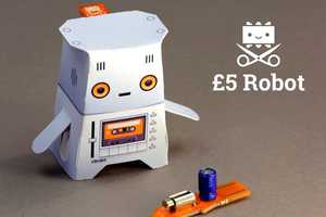 The Crafty Robot is Priced at Just £5 and Perfect for Aspiring Engineers
