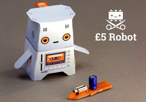 Inexpensive Robots - The Crafty Robot is Priced at Just £5 and Perfect for Aspiring Engineers
