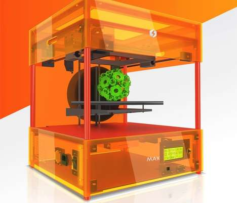 Affordable 3D Printers - The MaherSoft Max Will Fit on a Desktop and is Priced at Just $900