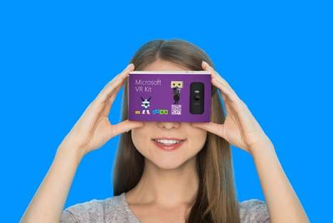 Smartphone-Focused VR Headsets - The Microsoft VR Kit Could Be a Google Cardboard Competitor