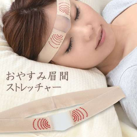 Brow-Stretching Devices - This Device Helps to Prevent Forehead Wrinkles from Forming
