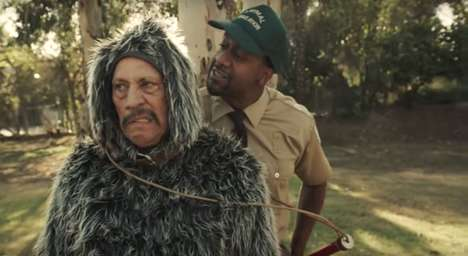Canine-Mimicking PSAs - This #RuffLife Animal Shelter Awareness Ad Features Danny Trejo