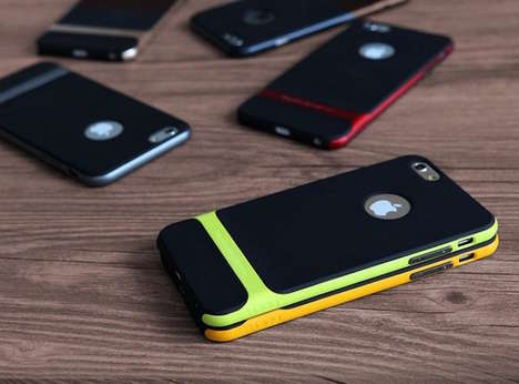 Multilayer Smartphone Cases - The Double Layer Protective iPhone Case Ensures Ultimate Protection
