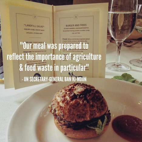 Waste-Based Menus - This Unusual Lunch Raised Awareness About the Issue of Food Waste
