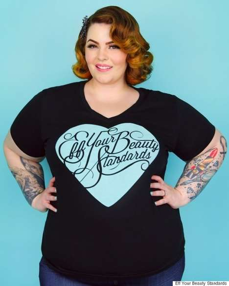 Body Positive Celebrity Fashions - This Collection is Designed by Inspirational Model Tess Holliday