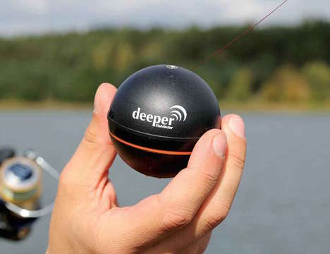 Wireless Fish Finders - This Portable Angling Accessory Acts Like a Miniature Smart Sonar