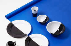 Hand-Dipped Monochromatic Dishes
