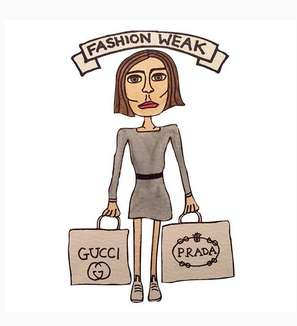Punny Fashion Illustrations - Angelica Hicks Takes Subtle Jabs at the Fashion Industry