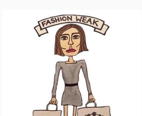 Punny Fashion Illustrations