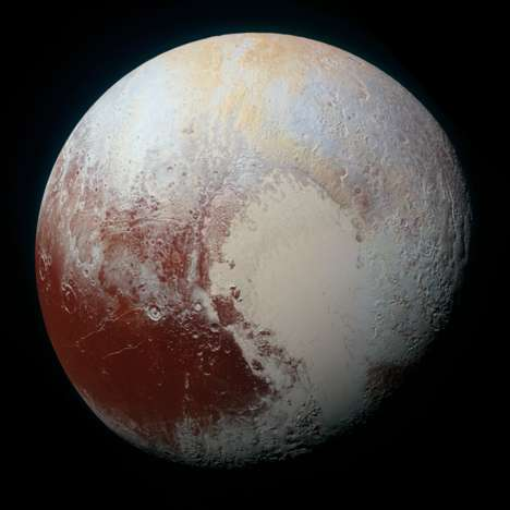 Vivid Planetary Photography - NASA's Stunning Images of Pluto Make the Planetoid Feel Closer