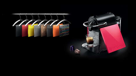 Custom Coffee Machine Panels - The Nespresso Pixie Clips Allow Consumers to Customize Their Brewers