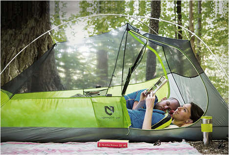 Lightweight Camping Equipment - The Hornet Tent by Nemo Equipment Offers Lots of Space Without Bulk