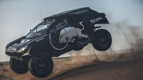 Beefy Off-Road Vehicles - The Peugeot 2008 DKR16 is Targeting the 2016 Dakar Rally