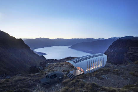 Electric Car-Powered Homes - This 3D-Printed House and Electric Car Have a Symbiotic Relationship