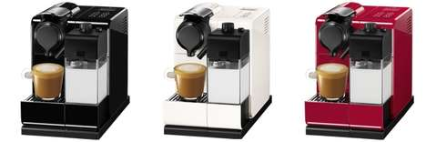 Creamy Coffee Brewing Machines - The 'Lattissima Touch' is Made for Those Who Enjoy Coffee with Milk