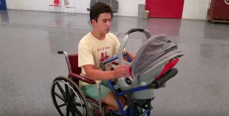 Wheelchair-Compatible Strollers - This Adaptable Baby Carriage is Designed for Wheelchair Users