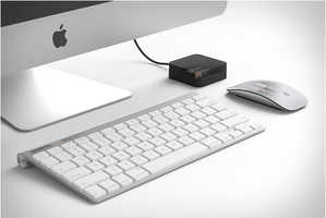The Aaden Battery Charger by Bluelounge Ensures Gadgets Remain Powered