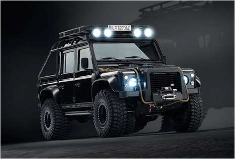 Secret Agent-Approved SUVs - The Land Rover Defender Spectre Edition Will Be Featured in the Film