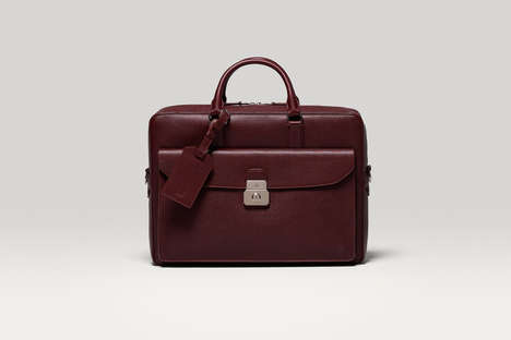 "British Lifestyle Leather Goods - The dunhill ""Albany"" Collection Was Inspired by English Aesthetic"