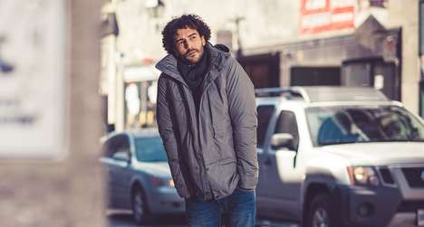 Recycled Down Jackets - This Sustainable Clothing Line Aims to Extend the Life of Raw Materials