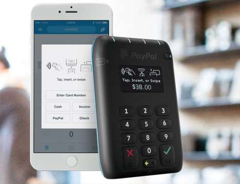 Wireless Payment Solutions - The Paypal Here Mobile Card Reader is Getting a Tap-to-Pay Update