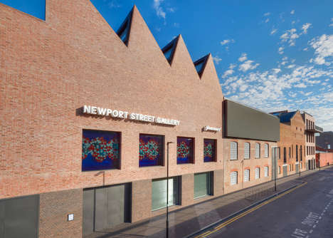 Artist-Curated Galleries - The Newport Street Gallery Will House Damien Hirst's Private Collection