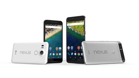 Competitive Flagship Smartphones - The Google Nexus 5X and 6P Will Take On the iPhone 6S and 6S Plus
