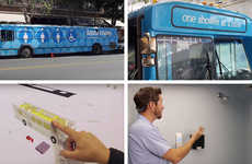 In-Bus Homeless Showers - These Donated City Buses Have Been Converted to Portable Showers