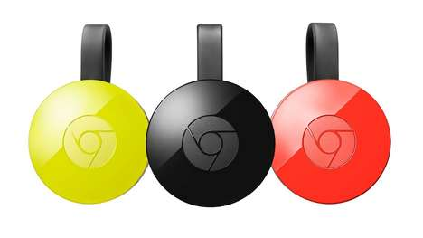 Streaming Digital Players - The Chromecast Audio Can Stream Audio Via WiFi