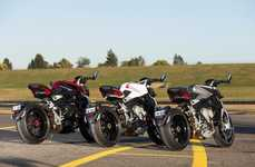 Gorgeous Italian Motorbikes - These MV Agusta Bikes Retain Gorgeous Design At a Lower Price