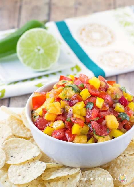 Peach Salsa Recipes - This Fruity Appetizer Creates a Delightfully Delicious Shareable Dish