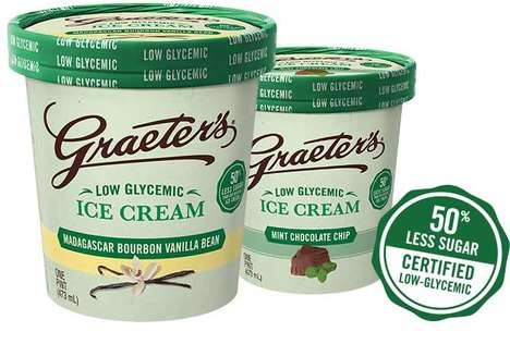 Low-Glycemic Ice Cream - This Healthy Frozen Treat is Specially Designed for Patients with Diabetes