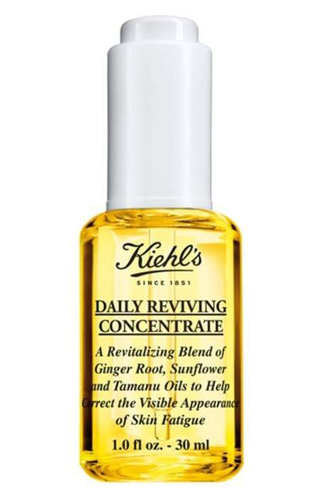 Zesty Brightening Serums - The Kiehl's Daily Reviving Concentrate is Made from Natural Oils