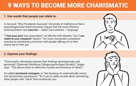 Charm-Enhancing Guides - This Infographic Offers Introverts Advice on How to Be Charismatic