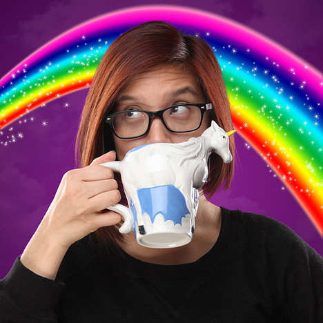 Magical Mug Designs - This Mug With a Unicorn On It Makes Drinking a More Magical Experience