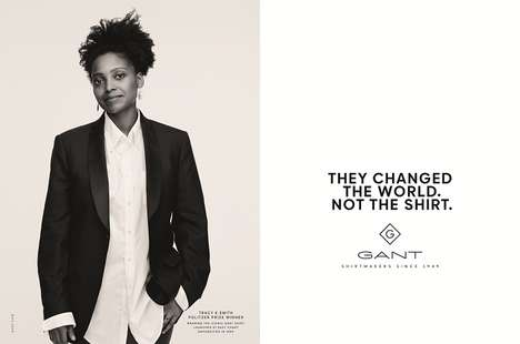 Heritage Shirt Advertisements - GANT's 'YALE' Heritage Shirts are Celebrated in This Campaign