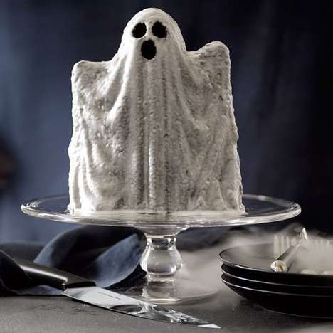 Ghost-Shaped Cake Pans - This Spooky Baking Sheet is Perfect for Making Halloween Treats