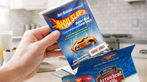Sobering Toy Cars - This Drive Sober Campagin Hides Smashed Toy Cars Inside Cereal Boxes