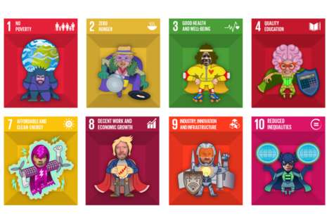 Heroic Development Campaigns - Virgin Unite's Global Goals Initiative Gets Young People Involved