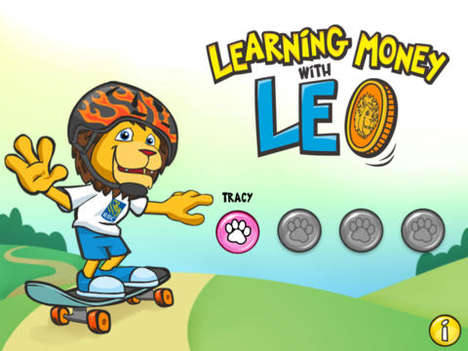 Kids Financial Literacy Games - 'Learning Money with Leo' by RBC Aims to Educate Kids on Money