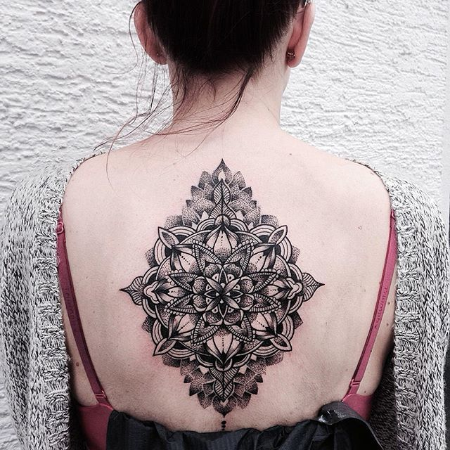 Intricate Mandala Tattoos