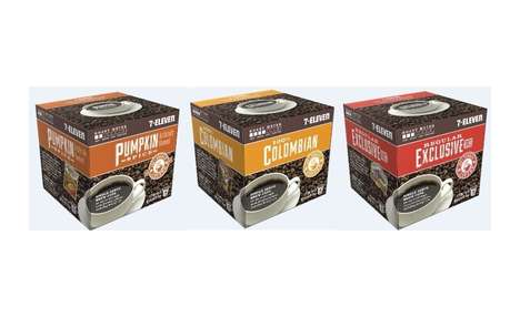 Convenience Store Coffee Pods - This Retailer is Now Producing Its Own Inexpensive Coffee Pods