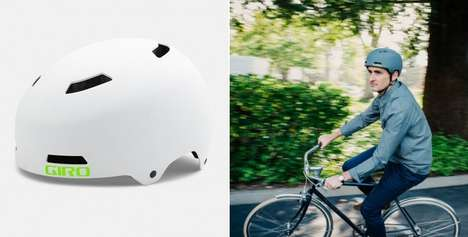 Biodegradable Helmets - The Giro Silo Helmet is an Eco-Friendly Option for Cyclists