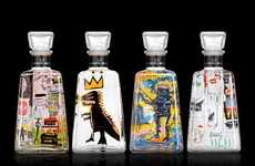 Graffitied Liquor Designs
