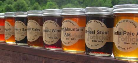 Boozy Jelly Spreads - Potlicker Kitchen Has a Line of Beer-Infused Jellies Ideal for Sandwiches